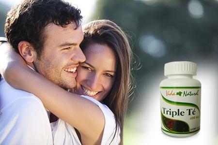 Vida Natural: Desde S/.23 por 1, 2 o 4 frascos de triple té Vida Natural con delivery