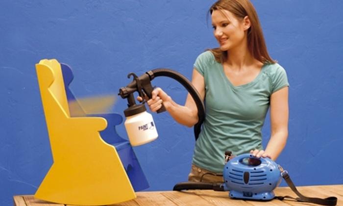 Groupon Shopping (Sistema profesional de pulverizado): $28.990 en vez de $51.990 por sistema profesional pulverizador de pintura con despacho