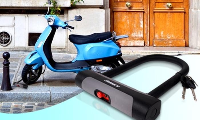 Groupon Shopping (Candado para bicicleta o moto): Paga $8.990 por candado para bicicleta o moto con despacho incluido