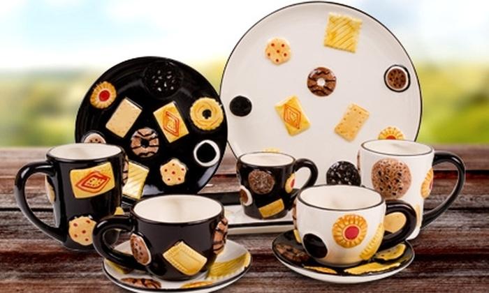 Groupon Shopping (Piezas de loza): $9.990 en vez de $16.632 por 3 piezas de loza de cerámica Concepts a elección, despacho incluido