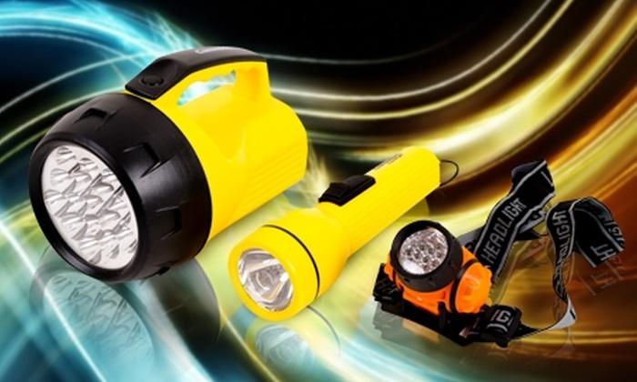 Espol: Paga desde $4.990 por linternas Camelion + pilas con opción a foco led en Espol. Incluye despacho