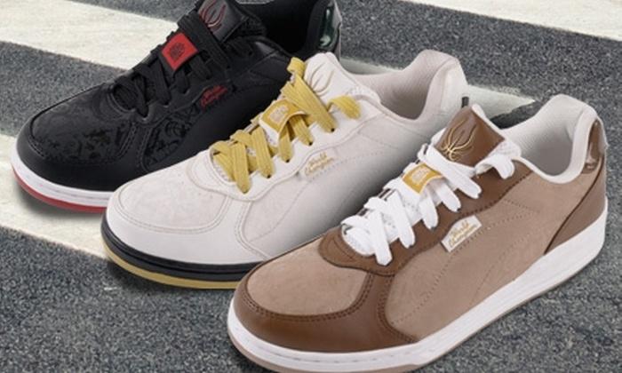 Groupon Shopping (juego de fútbol): Paga $14.990 por zapatillas Li-ning en Tenis & Golf con color y talla a elección. Incluye despacho