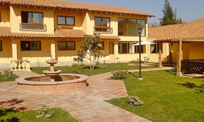 Uriel Hotel & Spa - Uriel Hotel & Spa: Paga desde $35.000 por 1 o 2 noches para dos + desayuno con opción a masajes + manicure spa + tour en Uriel Hotel y Spa, Los Andes