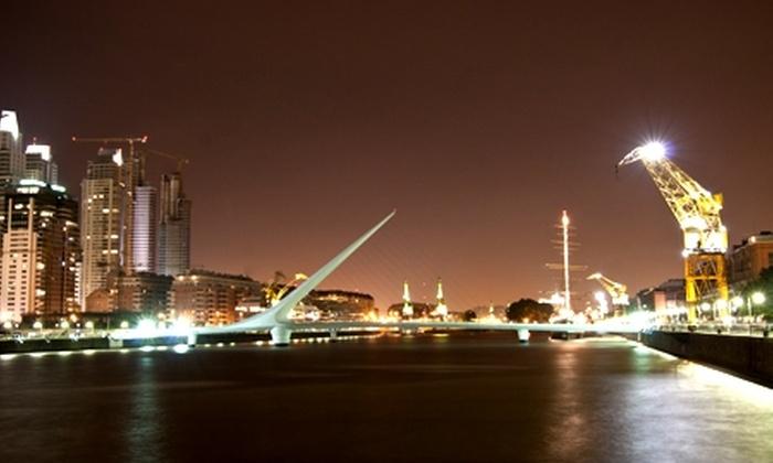 Groupon Travel (BuenosAires): Escapada a Buenos Aires: 4 noches para dos en Hotel Dazzler Suites Arroyo + desayuno + aéreos pagando $215.000 por persona. Elige la fecha