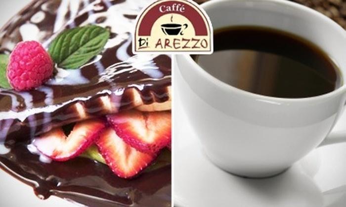 : Encuentra tu sabor: Paga $30 y consume $100 a la carta en crepas y cafés de Caffé Di Arezzo