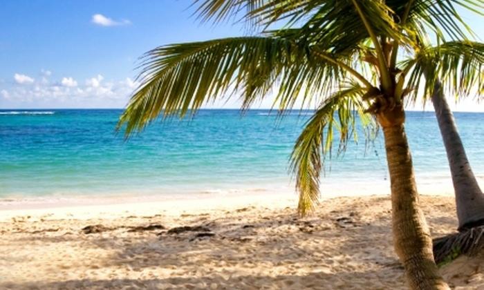 Groupon Travel (Punta Cana all inclusive): Punta Cana: paga desde $539.000 por persona para 5 o 7 noches all inclusive en plan doble + aéreos + traslados. Elige fecha de salida