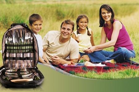 Groupon Shopping (mochila): Paga $9.900 en vez de 19.900 por mochila de picnic para 4 personas con despacho
