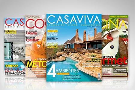Editorial Televisa: Desde $28.600 por suscripción anual a revista Casa Viva Cocina o Casa Viva Decoración de Editorial Televisa con envío