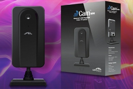 Groupon Shopping (Cámara IP): Paga desde $41.990 por 1 o 2 cámaras IP multipropósito Ubiquiti AirCAM-MINI con despacho