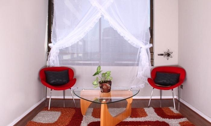 Groupon Shopping (velos): Paga $12.490 por set de 2 velos románticos de 3 paños cada uno color blanco o beige con despacho
