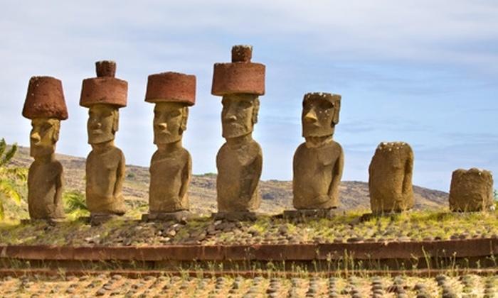 Groupon Travel (Isla de Pascua): Fin de semana largo en Isla de Pascua: 4 noches para dos desde $489.000 por persona + desayuno + aéreos + traslados + excursiones