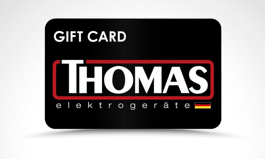 Groupon Shopping: Paga $1.000 por gift card de 25% o 30% de descuento en tienda online Thomas.cl