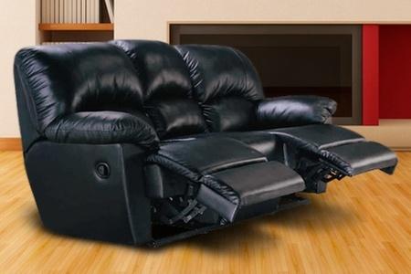 Groupon Shopping (sofá de 3 cuerpos reclinable): Paga $244.900 por sofá de 3 cuerpos reclinable