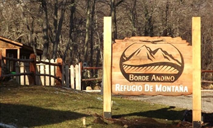 Hotel Borde Andino - Hotel Borde Andino: Paga desde $70.000 por 2 o 3 noches para dos o cuatro en Hotel Borde Andino, Valle Las Trancas, cerca de Chillán