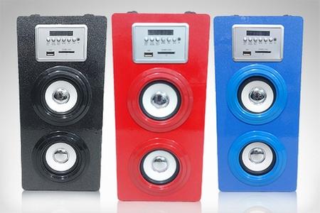 JalTech: $59.900 por parlante portátil doble bass de 10 W en color a elección. Incluye envío