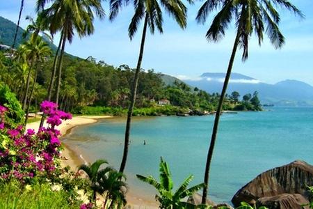 Groupon Travel (Ilhabela): Fiestas Patrias en Ilhabela: 5 o 6 noches para dos en hotel a elección pagando desde $349.000 por persona + desayuno + aéreos