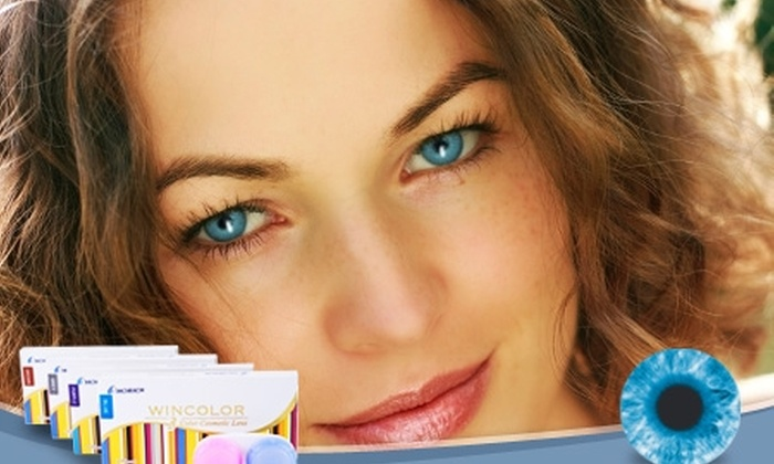 Groupon Shopping (lentes de contacto color): Paga $5.940 por lentes de contacto cosméticos color a elección con despacho