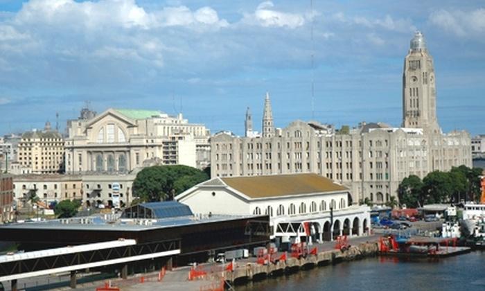 Groupon Travel (Montevideo): Montevideo: desde $229.000 por persona en estadía de 3 noches para dos en Hotel Europa u Hotel Crystal Palace + desayuno + pasajes aéreos