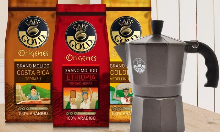Resultado de imagen para café grano molido gold origenes colombia