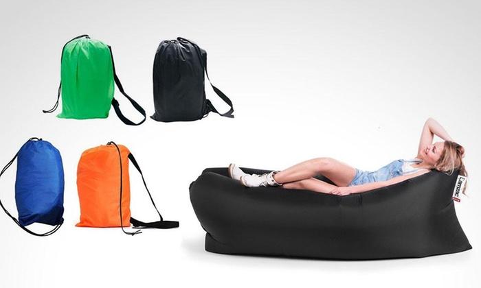 iPlaza: Sofá inflable portátil todo terreno con opción a delivery