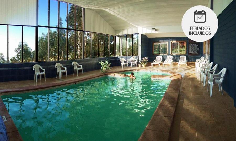 Hotel Borde Lago: Puerto Varas: 2, 3 o 4 noches para dos + desayuno + cena + welcome drink + acceso a piscina temperadaen Hotel Borde Lago