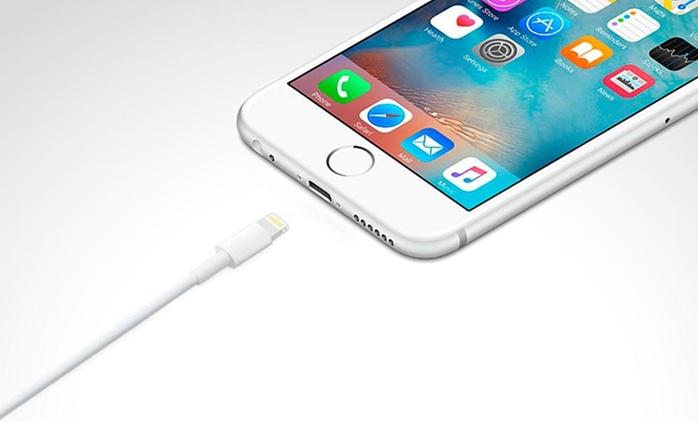 1 o 2 cables Apple Lightning. Incluye despacho