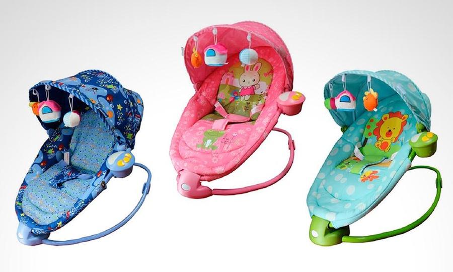 Ebaby: Silla mecedora vibratoria con cobertor y sistema de inclinación con opción a delivery con Ebaby