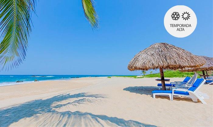Hotel Posada Real Puerto Escondido: Desde $3,199 por 2, 3, 4 o 5 noches para dos + all inclusive con opción a temporada alta en Hotel Posada Real Puerto Escondido