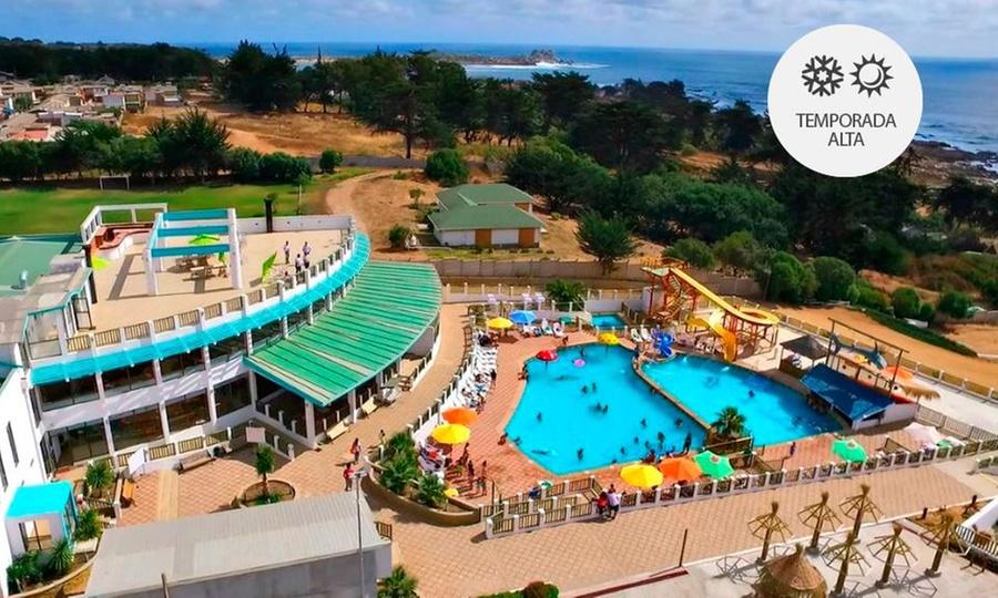Resort Riu - Tai: El Quisco: desde $25.000 por 1, 2, 3 o 4 noches para dos + desayuno + piscina temperada con opción a feriados en Resort Riu - Tai