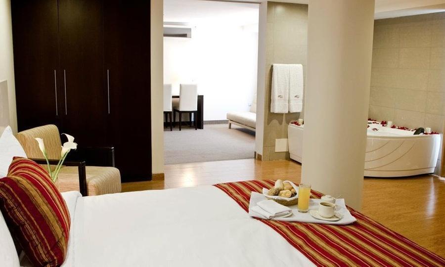 Allpa Hotel & Suites: Miraflores: desde S/.199 por noche romántica para dos en habitación a elección + desayuno buffet + decoraciónen Allpa Hotel & Suites