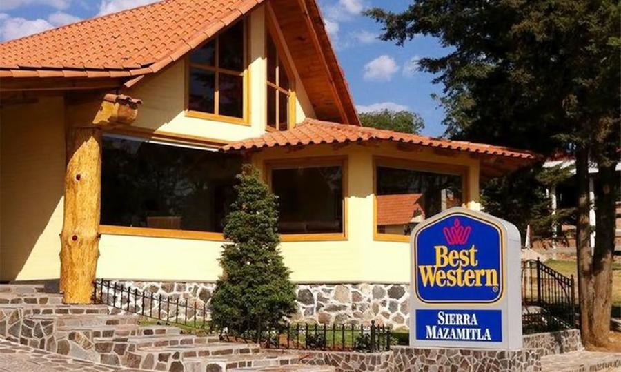 Hotel Sierra Mazamitla (Best Western Sierra Mazamitla): Desde $1,199 por 2 noches para dos + desayunos en Hotel Sierra Mazamitla (Best Western Sierra Mazamitla)