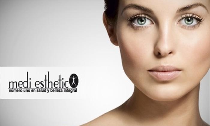 Bembos: Fortalece tu piel: Análisis computarizado + limpieza facial profunda + acelerador biomolecular con 65% de descuento en Medi Esthetic