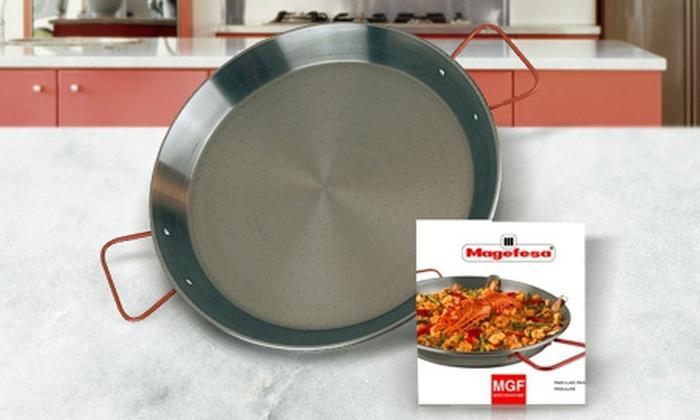 Magefesa®: Desde $199 por paellera valenciana Magefesa® de 30 o 34 cm. Incluye envío