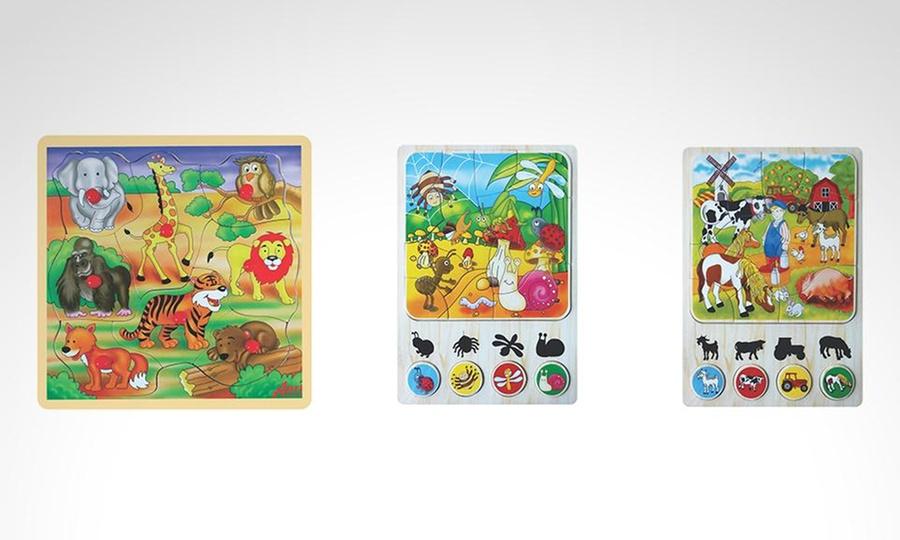 Shopping Perú: Pack de 3 juegos de rompecabezas con Arti Creativo