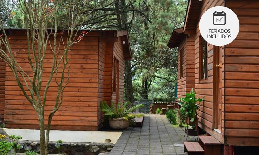 Cabañas Monte Alto Hotel Boutique: Valle de Bravo: desde $799 por 2 o 3 noches para dos o cuatro + barra de café en Cabañas Monte Alto Hotel Boutique