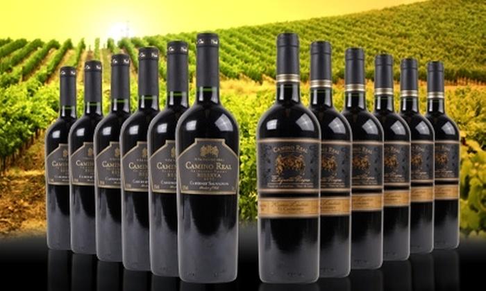 Groupon Shopping (Vinos): $19.990 en vez de $50.050 por 6 botellas de vino cabernet sauvignon o blend Viña Camino Real reserva 2011 con despacho
