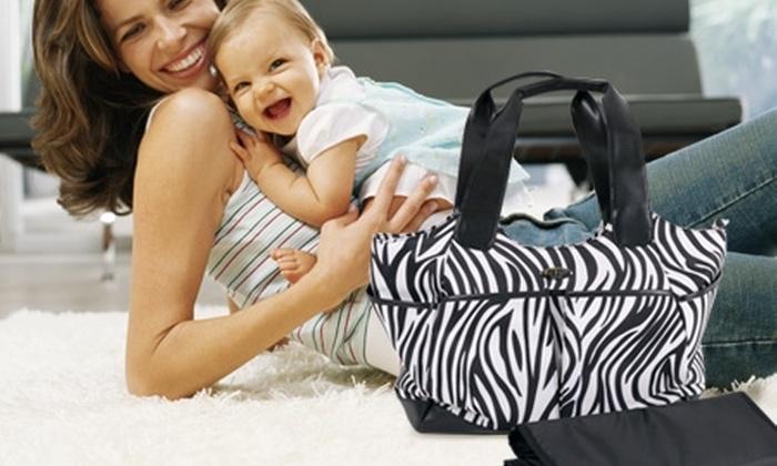 Baby Way: $8.490 en vez de $19.390 por bolso animal print para pañales Baby Way con despacho