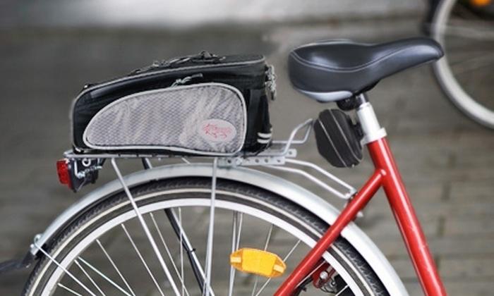 Ic Bikes: Paga $14.990 por pack de 2 bolsos Barracuda para parrilla y asiento de bicicleta con Ic Bikes. Incluye despacho