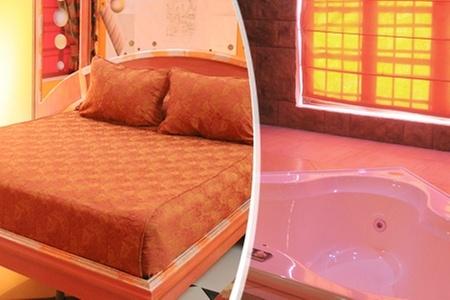 Amor Amor Motel Boutique: Escapada Romántica en Santiago: Paga desde $24.750 por 12 horas en habitación suite o VIP con tina de hidromasaje + desayuno + rosas en Amor Amor Motel Boutique