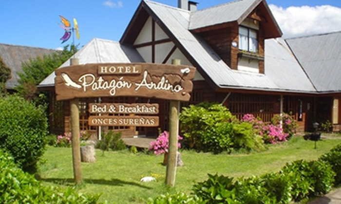 Hotel Patagón Andino: Villarrica: paga desde $33.000 por 2 o 3 noches para dos + desayuno + botella de vino en Hotel Patagón Andino