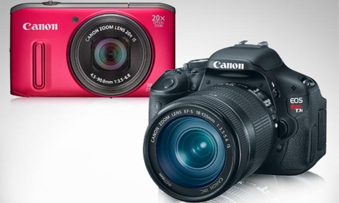 Canon®: Desde $409.000 por cámara fotográfica semiprofesional o profesional Canon® a elección con envío