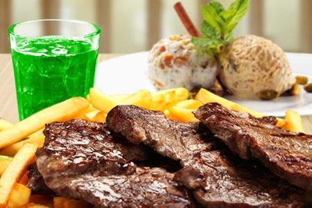 Restaurant La Pradera: $13.700 en vez de $27.400 por parrillada + acompañamiento + postre + bajativos para dos en Restaurant La Pradera