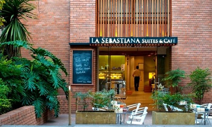 La Sebastiana Suite - La Sebastiana Suite: Escapada romántica en Las Condes: $59.200 en vez de $118.400 por noche para dos + desayuno buffet + champaña y cesta de frutas en La Sebastiana Suites