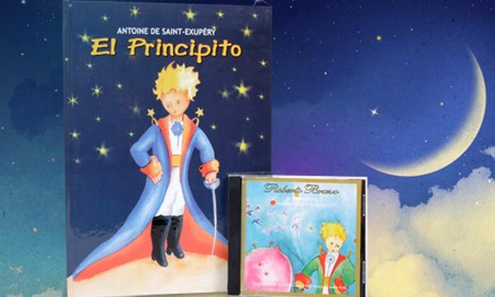 Groupon Shopping (El Principito): $12.990 en vez de $28.630 por libro + CD de El Principito de Antoine de Saint-Exupéry con despacho