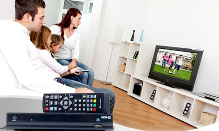 Groupon Shopping (decodificador TV): Paga $15.590 por decodificador TV digital Fujitel con despacho