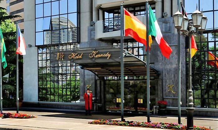 Hotel Kennedy - Hotel Kennedy: Paga desde $65.000 por noche para dos + desayunos + acceso a gimnasio y piscina temperada en Hotel Kennedy 5 estrellas, Santiago. Elige habitación