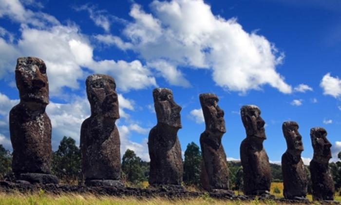 Groupon Travel (Isla de Pascua): Vacaciones de invierno en Isla de Pascua: paga $529.000 por persona por 5 noches para dos en Hotel Oceanía + aéreos + traslados