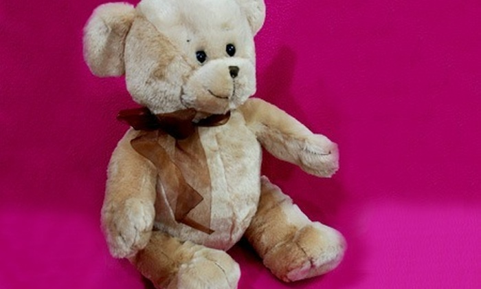 : $20.400 en vez de $40.800 por oso de peluche en Juguetelandia