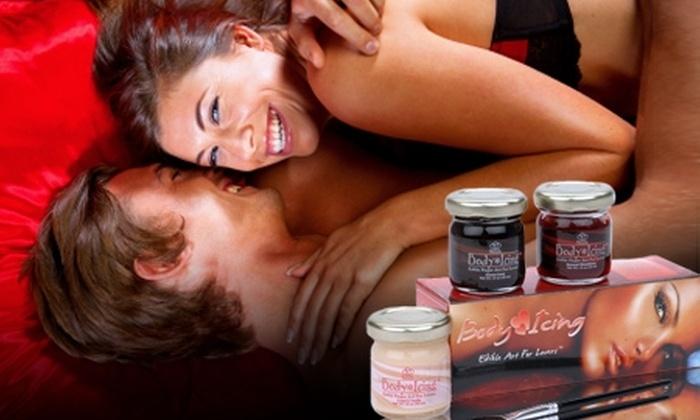 Sexshop Novelty - Sexshop Novelty: $12.500 en vez de $25.000 por pack Body Paint con 3 sabores en Sexshop Novelty