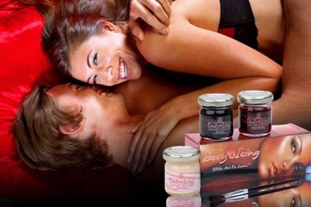 Sexshop Novelty: $12.500 en vez de $25.000 por pack Body Paint con 3 sabores en Sexshop Novelty